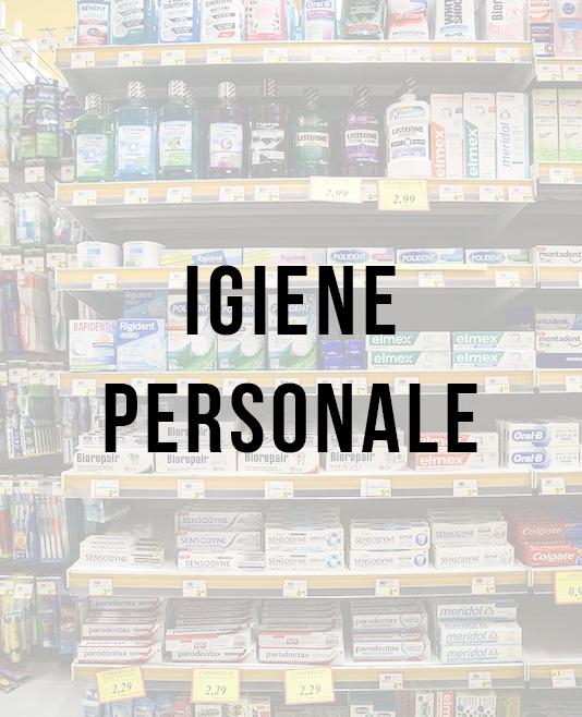 • Igiene Personale